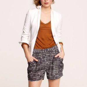J. Crew silk shorts